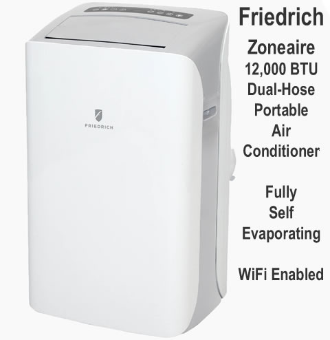 friedrich portable air conditioner self evaporating