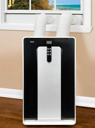 Incroyable Portable Air Conditioner Dual Hose