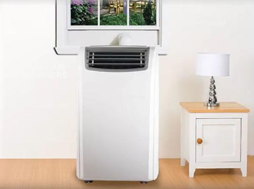 los acondicionadores de aire portátiles