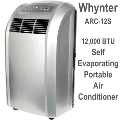 whynter arc-12s portable self evaporating air conditioner